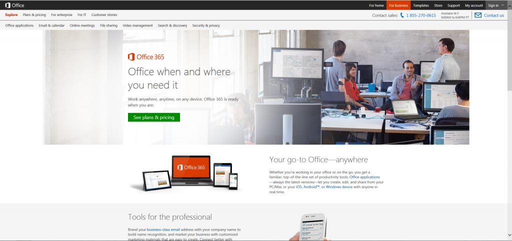Microsoft's Office 365